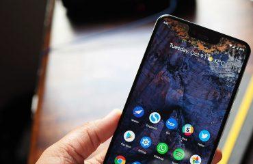 Google Pixel 3 XL'deki çentiği nasıl gizlerim?