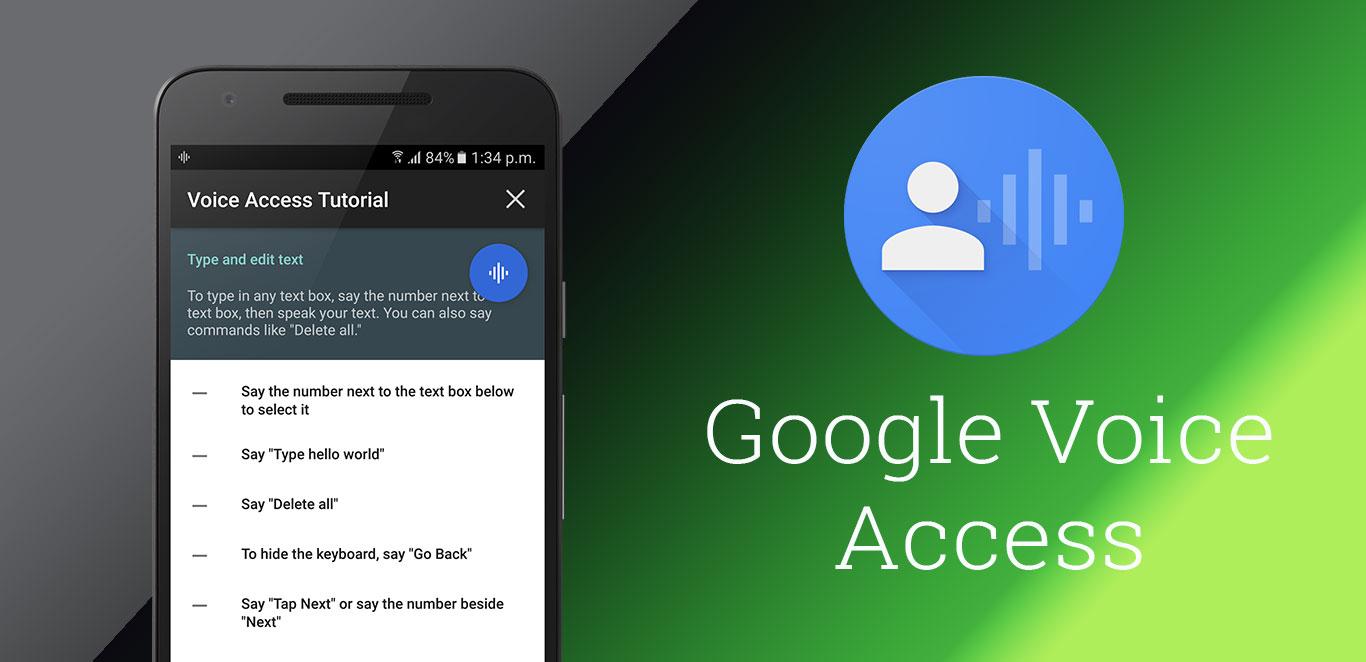 Google Voice Access Nedir?