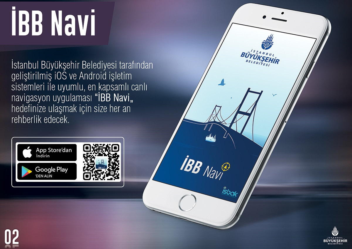 Yerli Navigasyon Uygulaması İBB Yol Gösteren