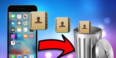 İPhone'da birden çok kişiyi nasıl silebilirim?