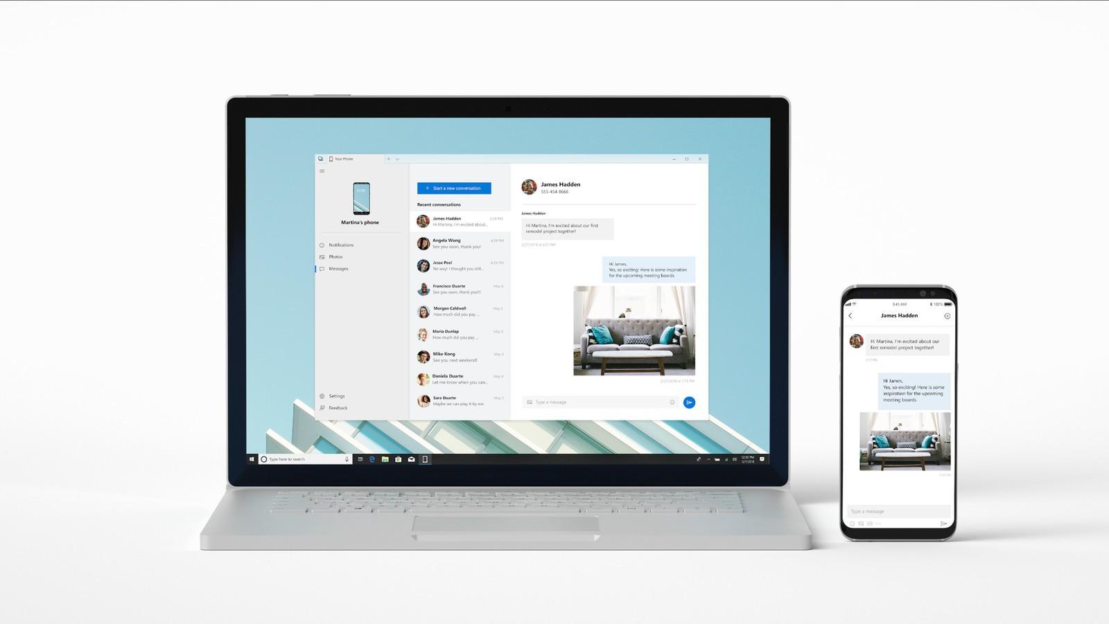 Yeni Microsoft Uygulaması Your Phone Play Store 'da!