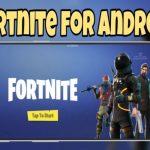 Android'de Fortnite nasıl kurulur?