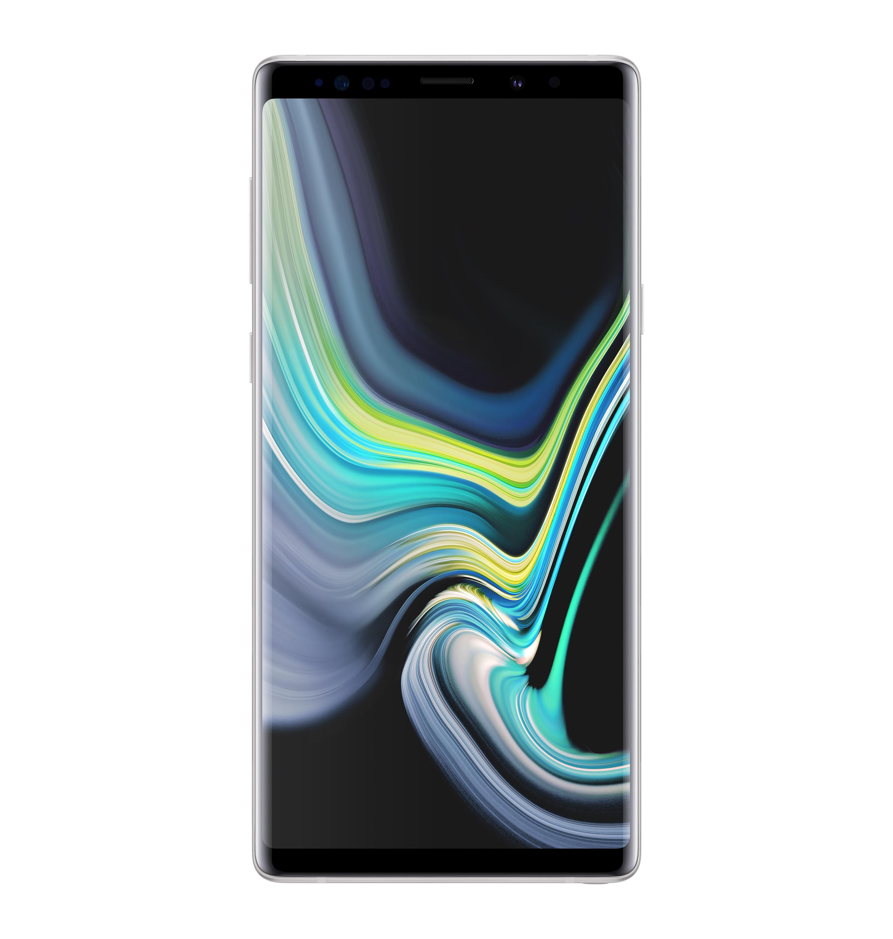 Samsung Galaxy Note 9 resmen beyaz olarak sunuldu!