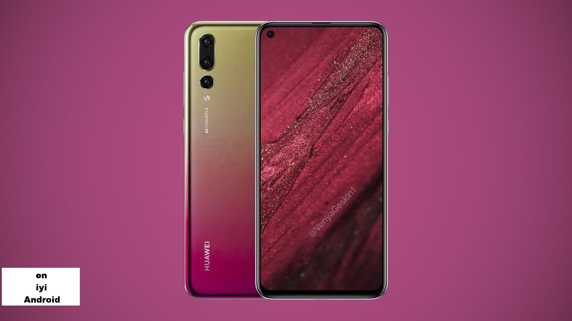 Huawei Nova 4 Çin'deki bir şovda gözüktü!