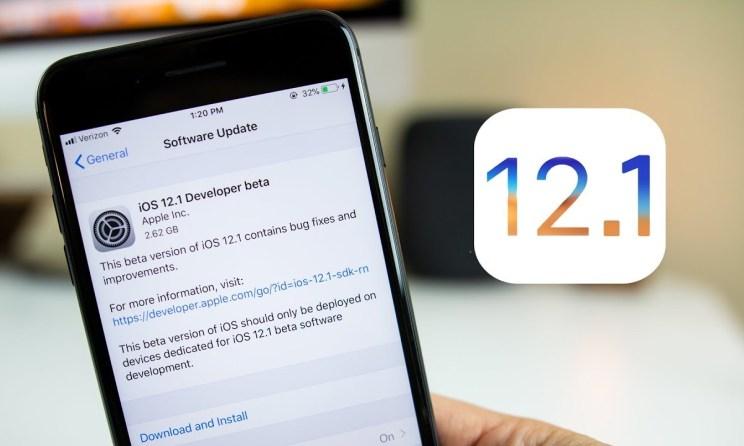 iOS 12.1 Yayınlandı