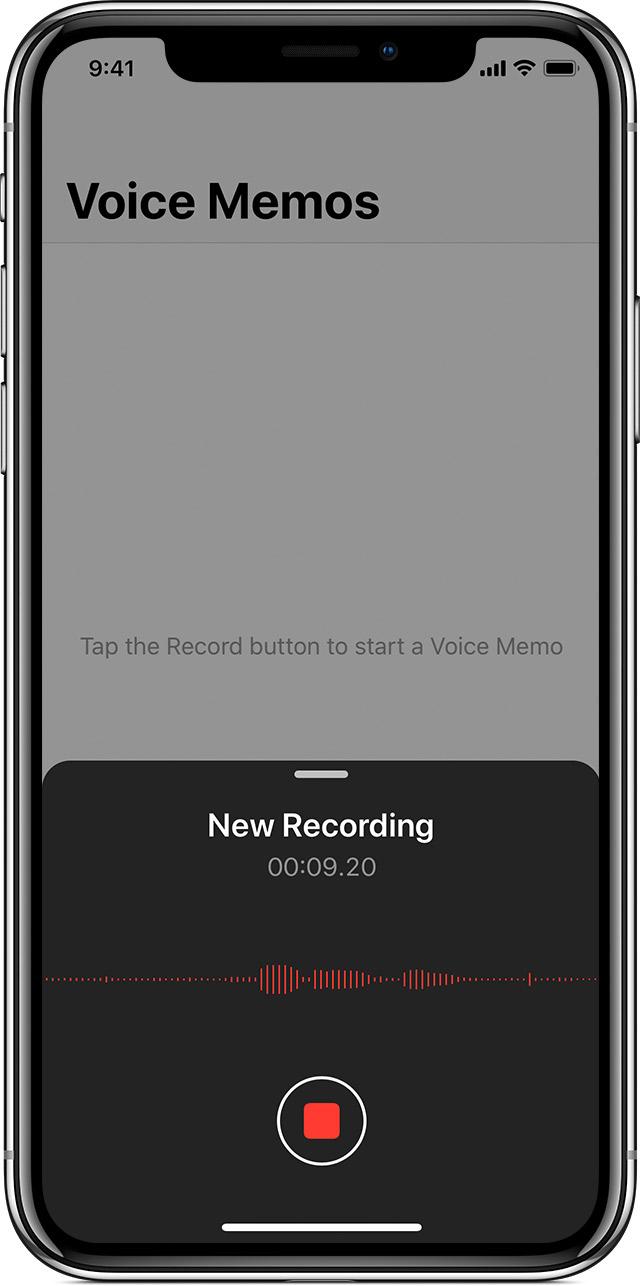 iPhone'da Sesli Not Kaydı Nasıl Yapılır?
