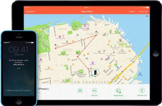 Kaybolan iPhone'unuzu Kayıp Mod kullanarak nasıl izlersiniz?