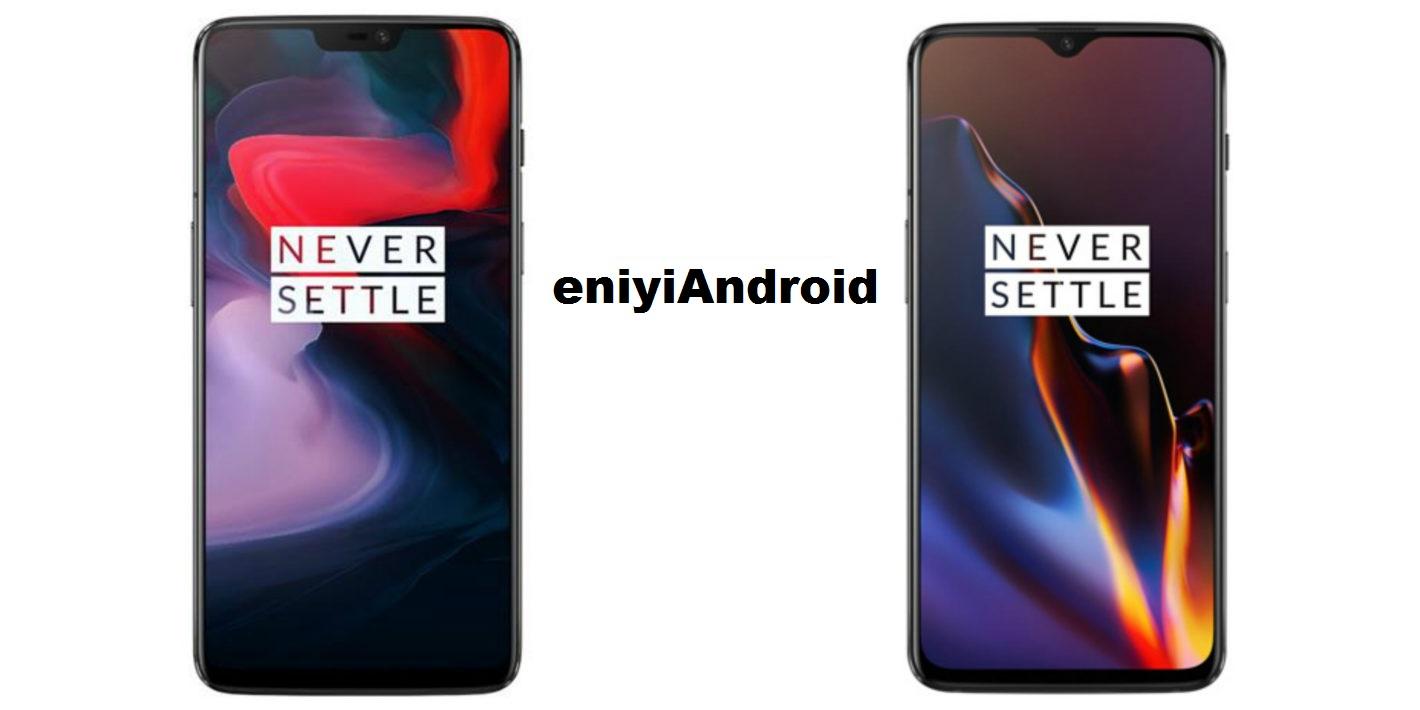 Telefon Karşılaştırmaları: OnePlus 6 vs OnePlus 6T