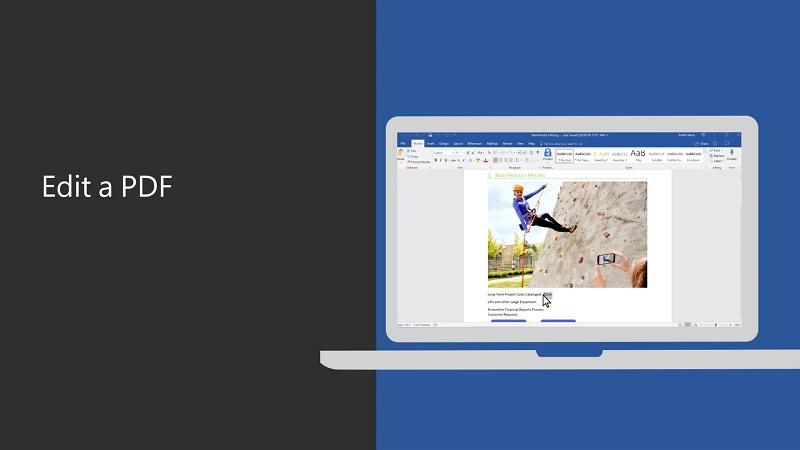 Word'deki PDF'ler nasıl düzenlenir?