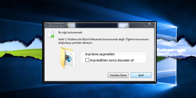 Silinmeyen dosyaları nasıl silebilirim?