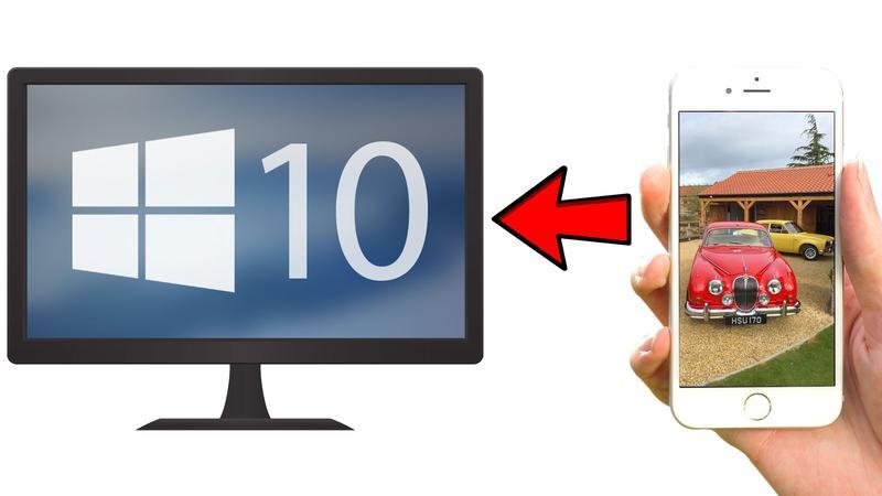 İPhone'dan Windows 10'a fotoğraflarınızı nasıl aktarırsınız?