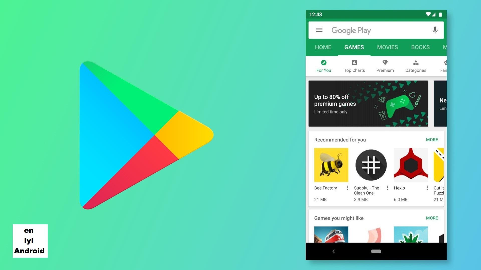 Google Play Store'un tasarımı tekrar güncellendi!