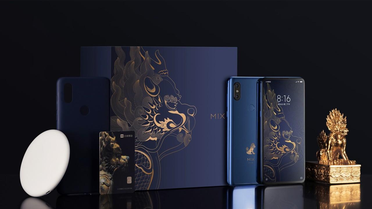 Xiaomi Mİ MİX 3 Forbidden City Edition Aralık ayında satışa sunulacak!