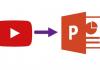 PowerPoint'te YouTube videosu nasıl gömülür?