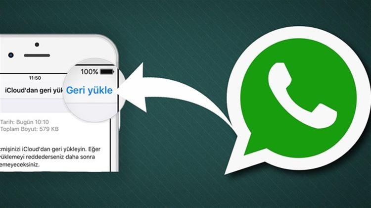 WhatsApp Yedek Geri Yükleme