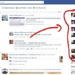 Facebook haber bandı yok, geri getirme işlemi
