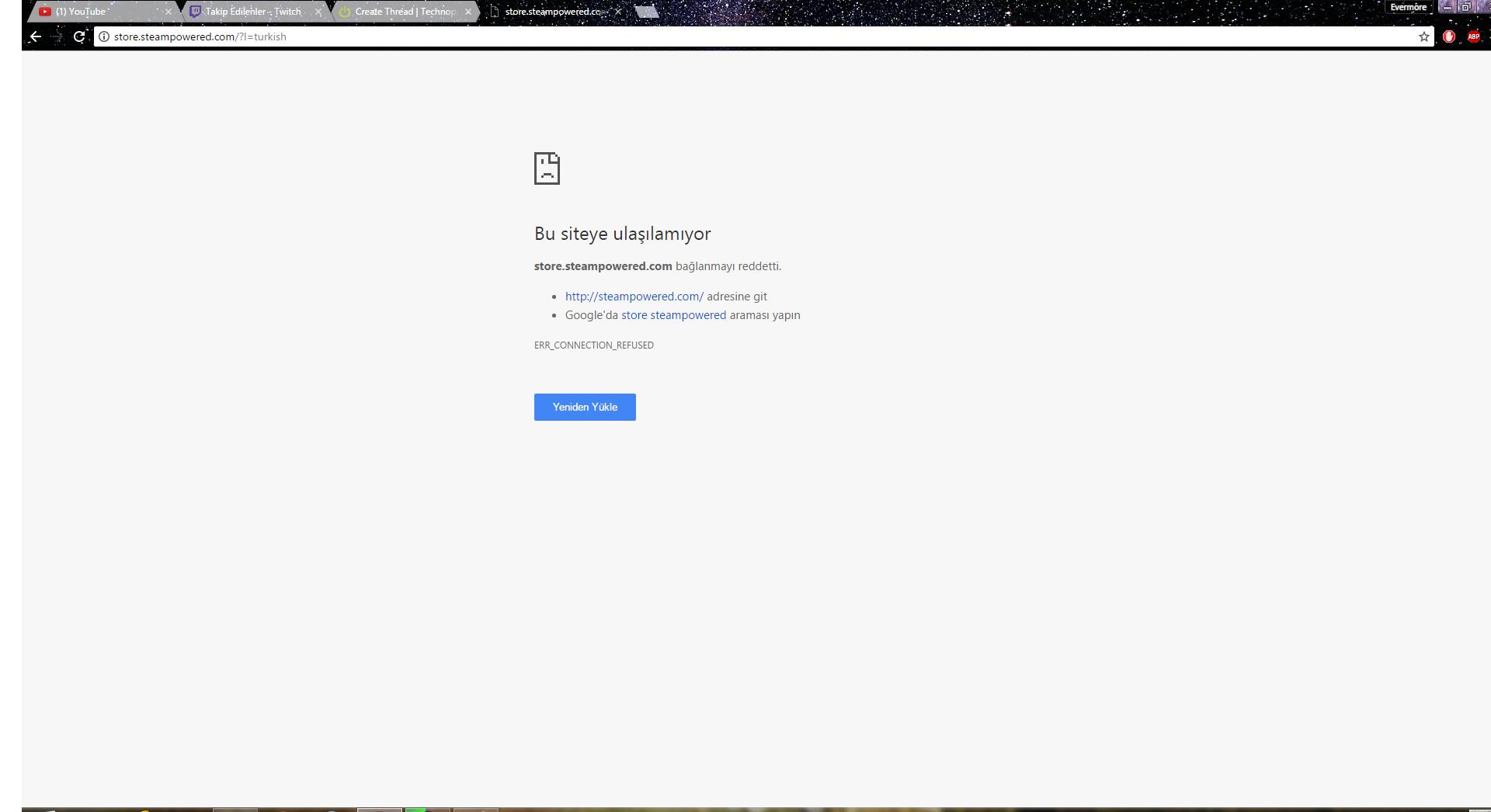 Chrome tarayıcıda meb.gov.tr adresine giremiyorum 2019