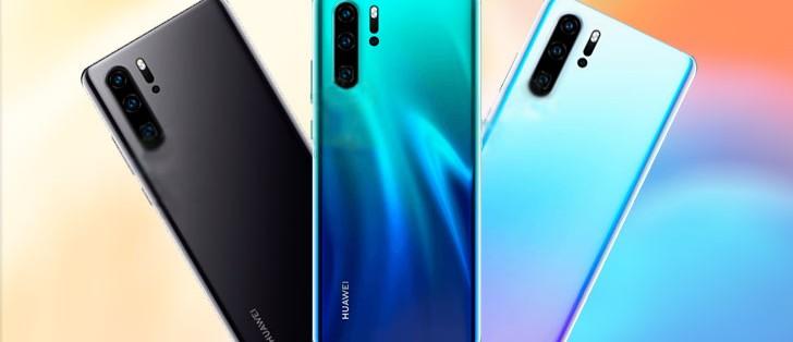 Huawei P30 Pro çizimlerinde yeni detaylar!