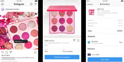 Instagram ödeme yapma özelliği 2019