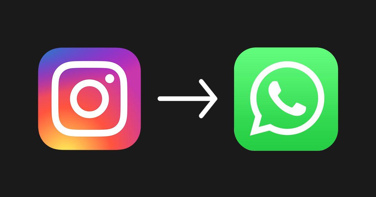 Instagram'da whatsapp sohbet linki oluşturma