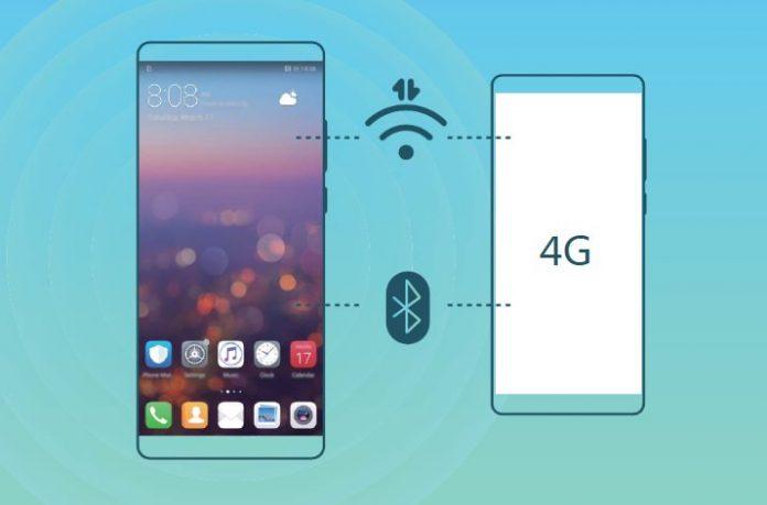 Huawei İnternet Paylaştırma İşlemi 2019