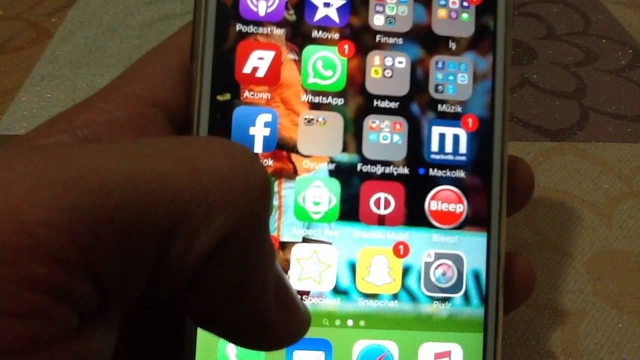 iPhone'da sesli aramaları kaydetme ACR uygulaması
