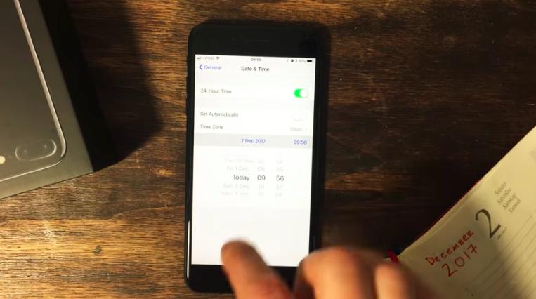 iPhone Saat-Tarih Ayarını Düzenleme 2019