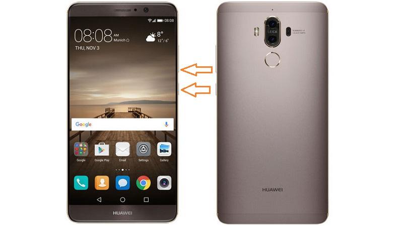 Huawei Cihazlarda Ekran Görüntüsü Alma İşlemi