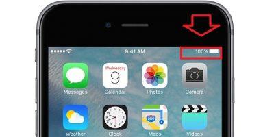 iPhone Pil Yüzdesini Açma İşlemi