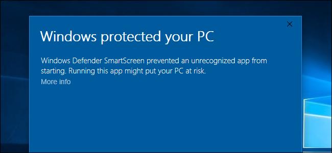 Windows 10'da Bulunan SmartScreen Filtresini Devre Dışı Bırakma İşlemi