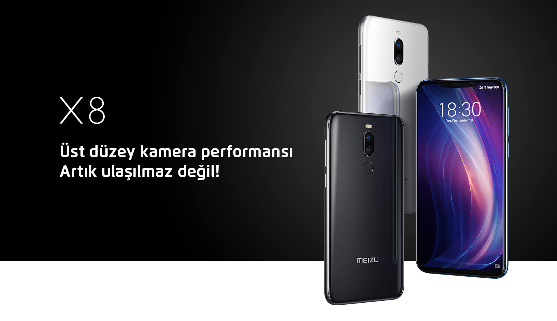 Meizu X8 ekran görüntüsü nasıl çekilir?
