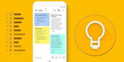 Google Keep'te Klasörler Nasıl Yapılır