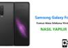 Samsung Galaxy Fold Format Atma