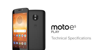 Motorola Moto E5 Play Format Atma Ve Sıfırlama